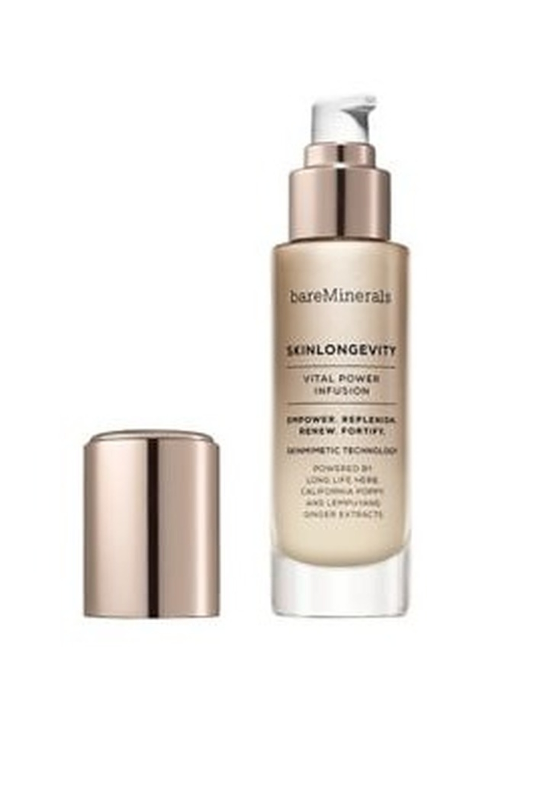 bareMinerals SKINLONGEVITY® VITAL POWER INFUSION SERUM 50ML Anti-Aging Infusion Serum - Main Image