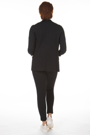 Black Tape/Dex Skinny 2 Pocket Knit Pant - Side cropped