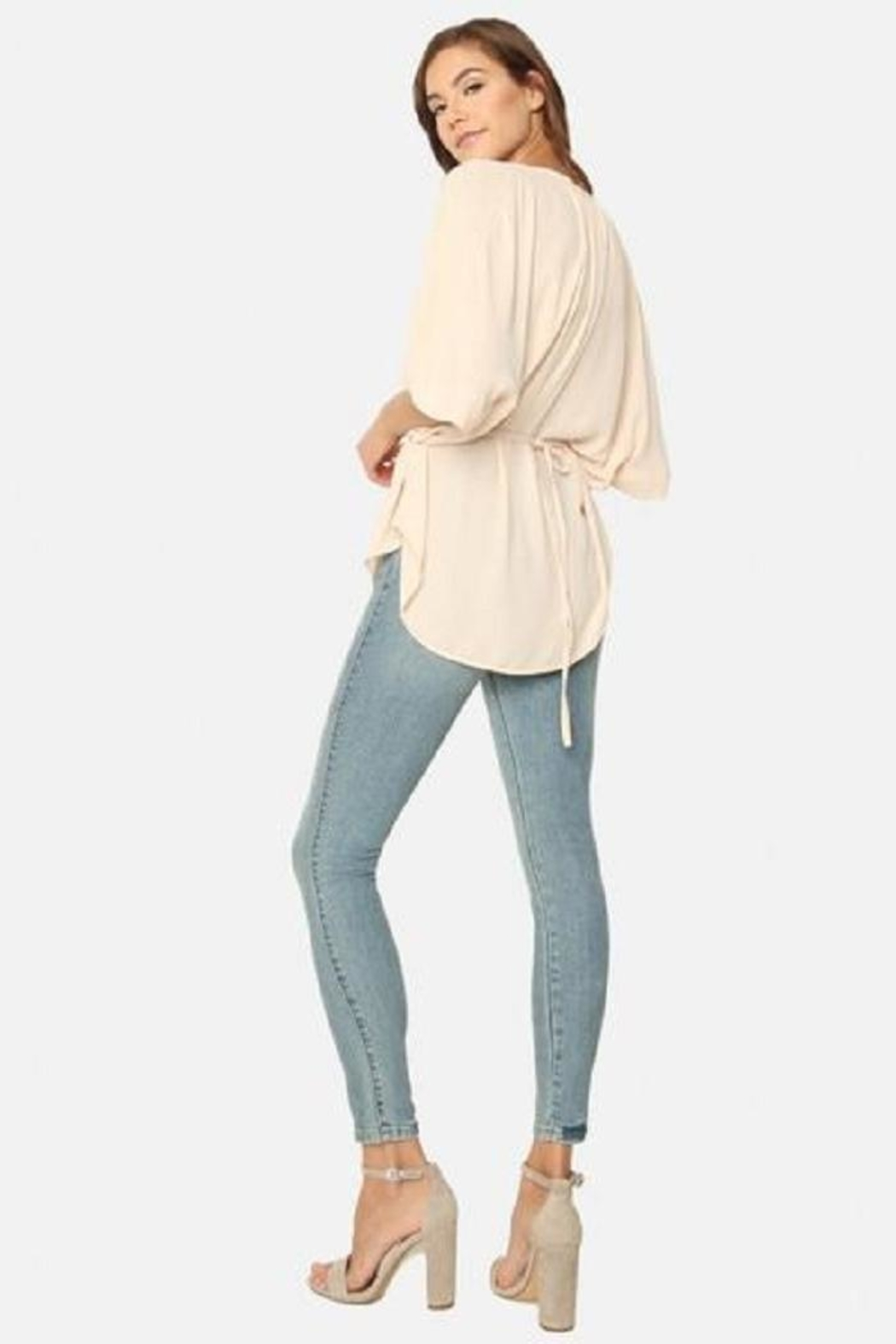 James Jeans Skinny Ankle Jean - Side Cropped Image