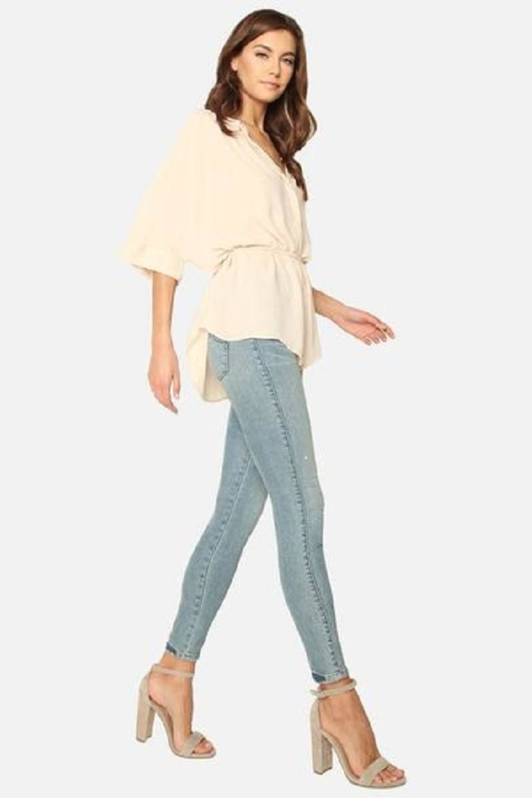 James Jeans Skinny Ankle Jean - Front Full Image