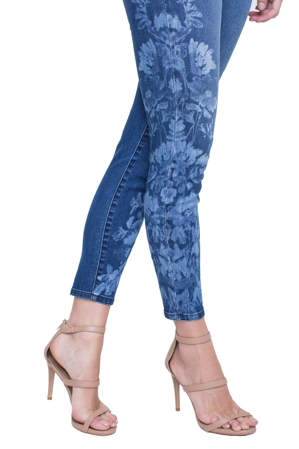 Liverpool Skinny Ankle Jeans - Side Cropped Image
