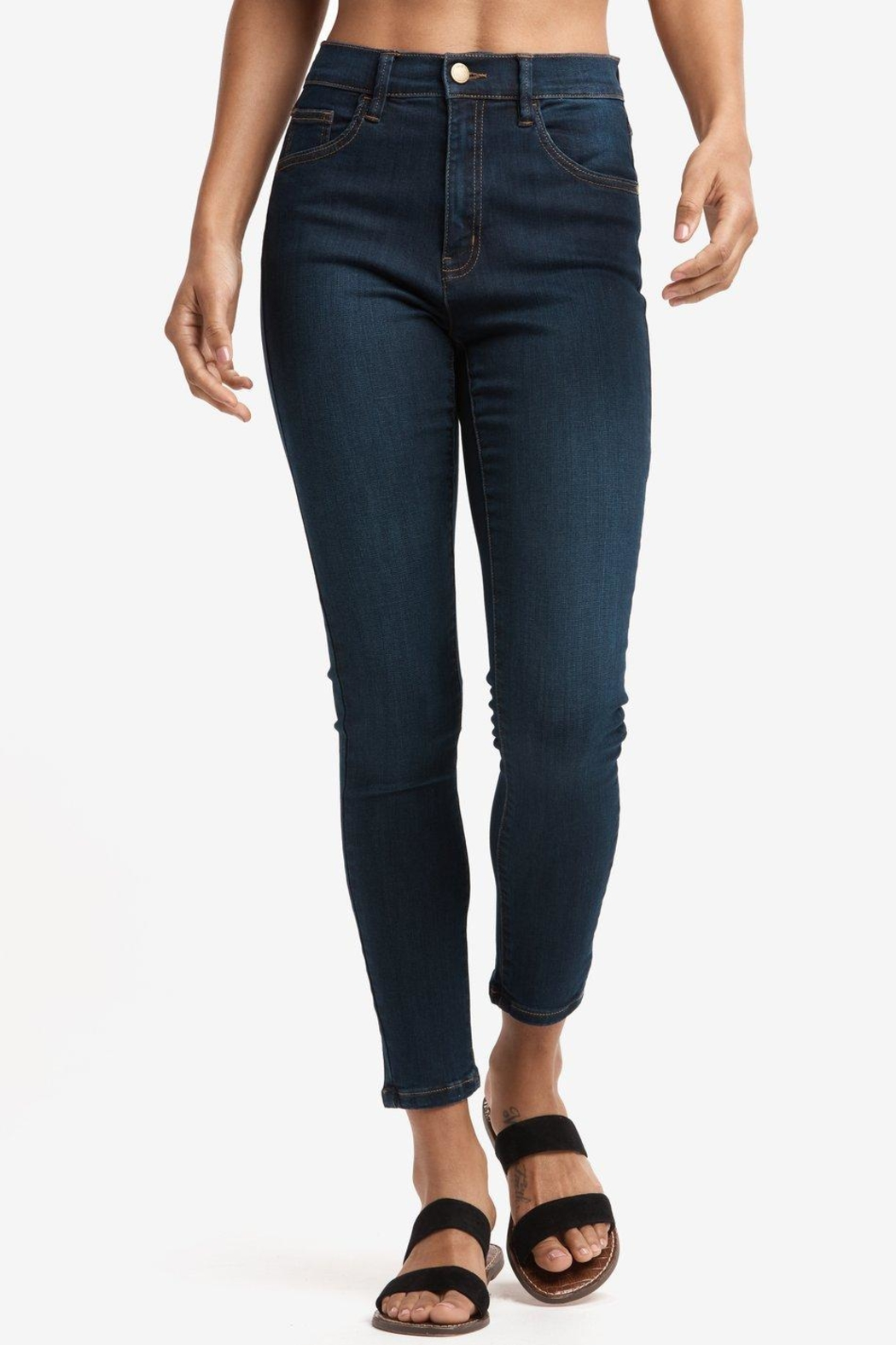 Lole Skinny Ankle Jeans - Front Cropped Image