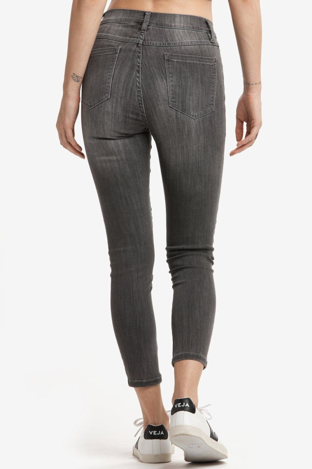 Lole Skinny Ankle Jeans - Side Cropped Image