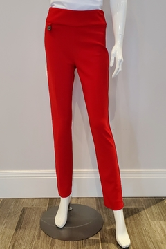 Shoptiques Product: Skinny Ankle Pant, Lipstick Red