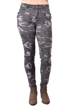 True Blue Clothing Skinny Camo Jean - Product List Image