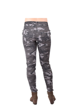 True Blue Clothing Skinny Camo Jean - Alternate List Image