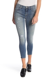 J Brand Skinny Crop Distressed Nolita Jeans - Product Mini Image
