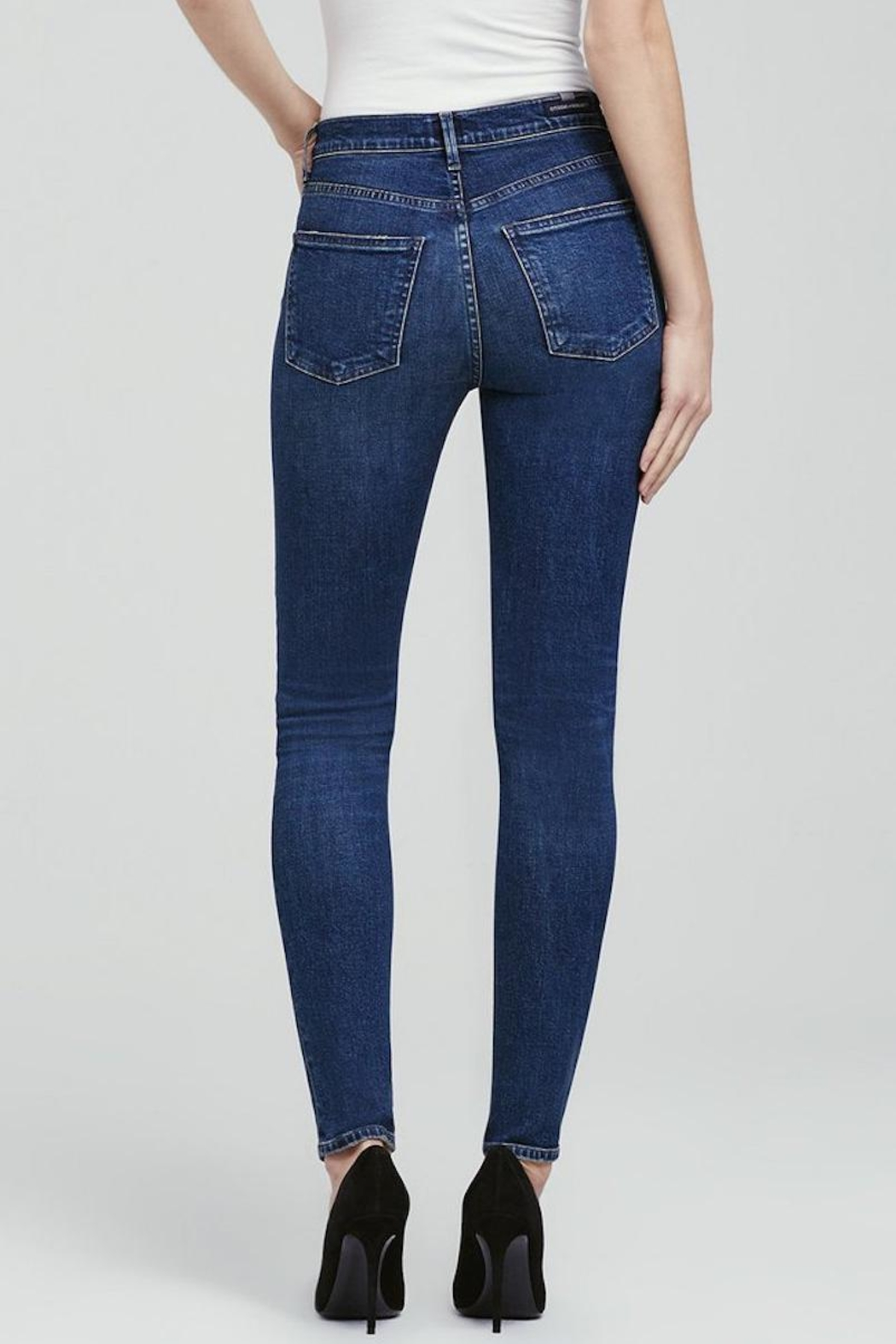 Citizens of Humanity Skinny Denim - Side Cropped Image