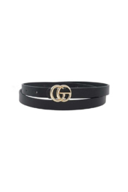 Susan Ankerson Skinny GG Belt - Front cropped