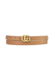 Ana Accessories Skinny GG Belt - Front cropped