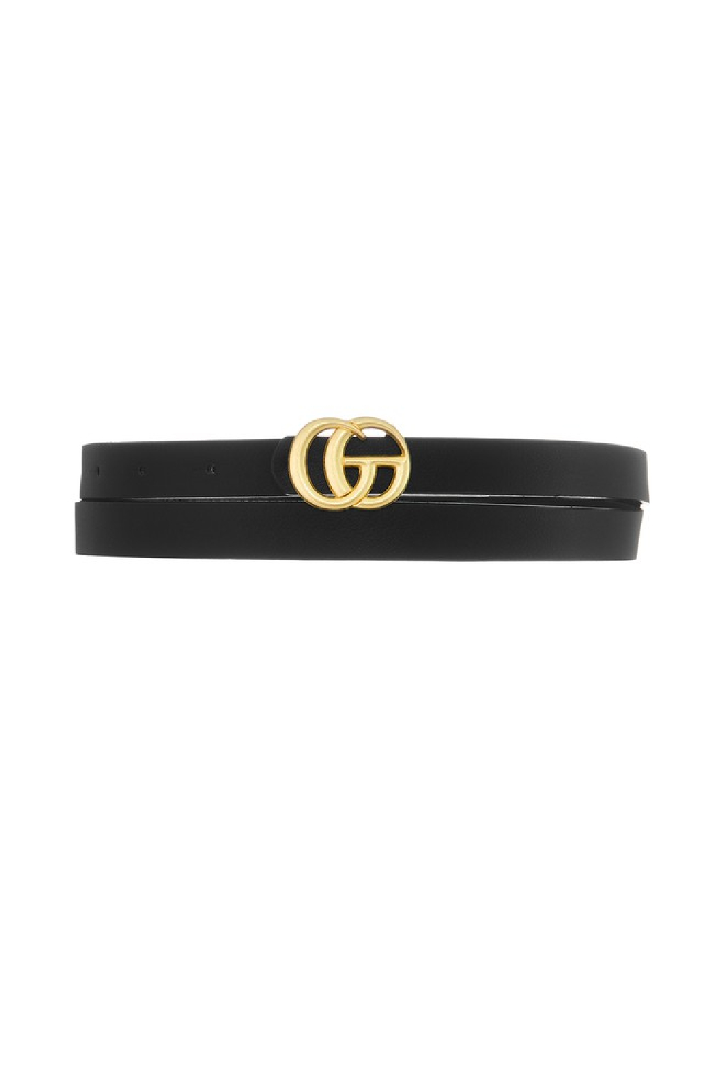 Ana Accessories Skinny GG Belt - Front Cropped Image