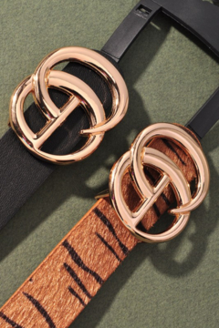 Shoptiques Product: Skinny GG Belt