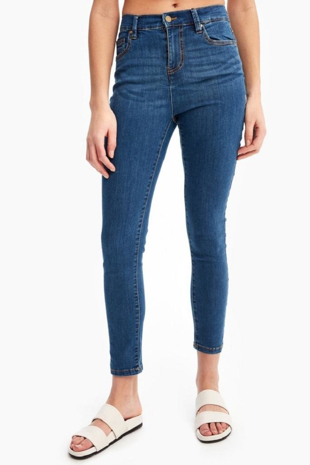 Lole Skinny High-Waisted Jeans - Main Image