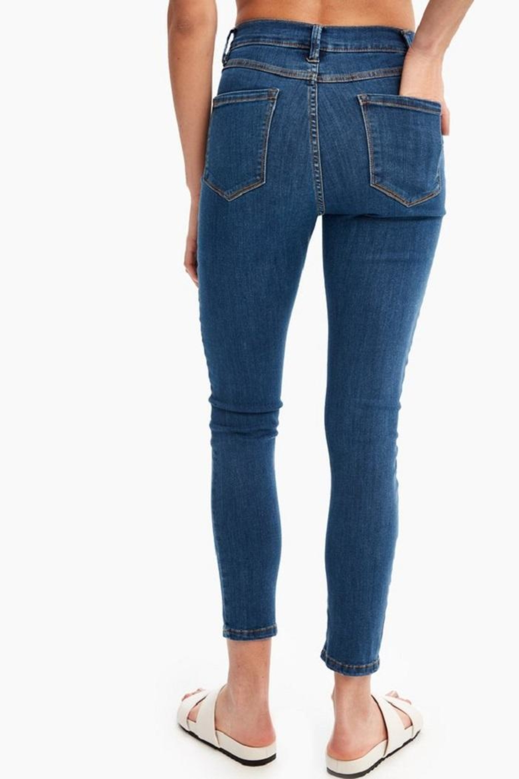 Lole Skinny High-Waisted Jeans - Side Cropped Image