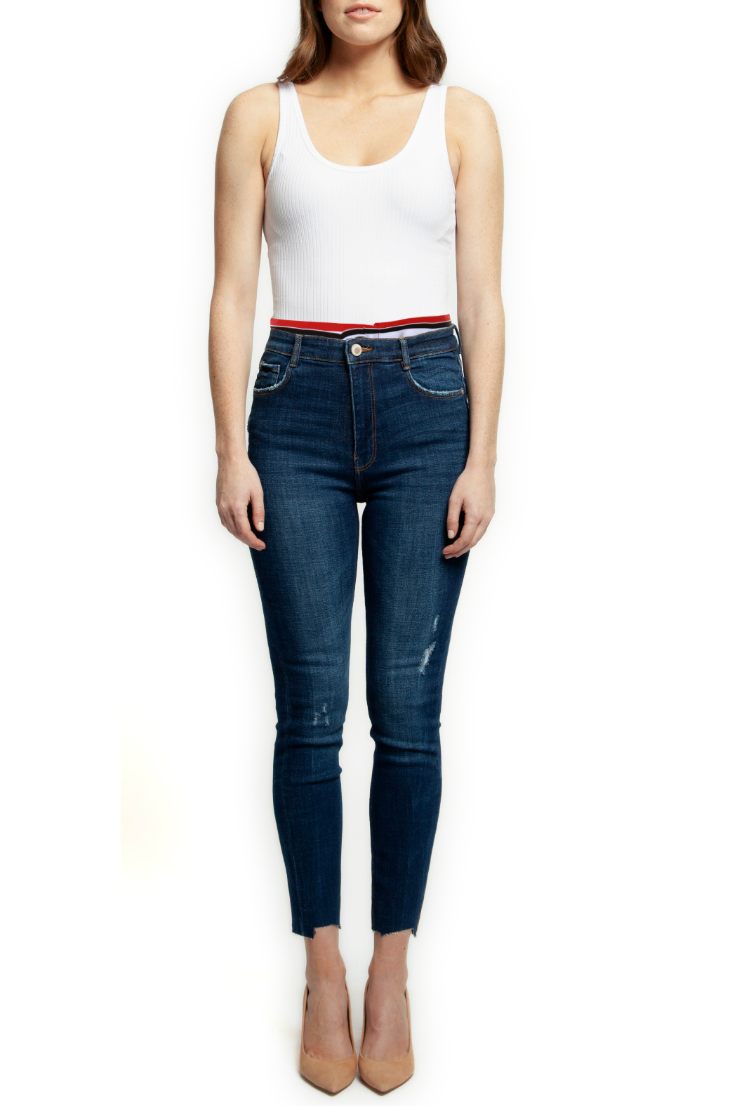 bdd0889b1c6c Dex Skinny Jean w Sporty Elastic Waistband from New Jersey by ...