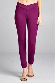 Active Basic Skinny Ponte Pants - Product Mini Image