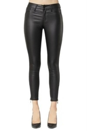 Mazik Skinny PU Faux Leather Pants - Product Mini Image