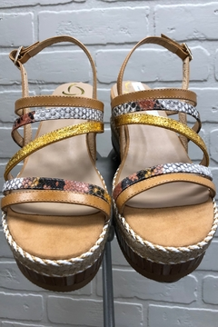 Shoptiques Product: Skinny Strap Wedge