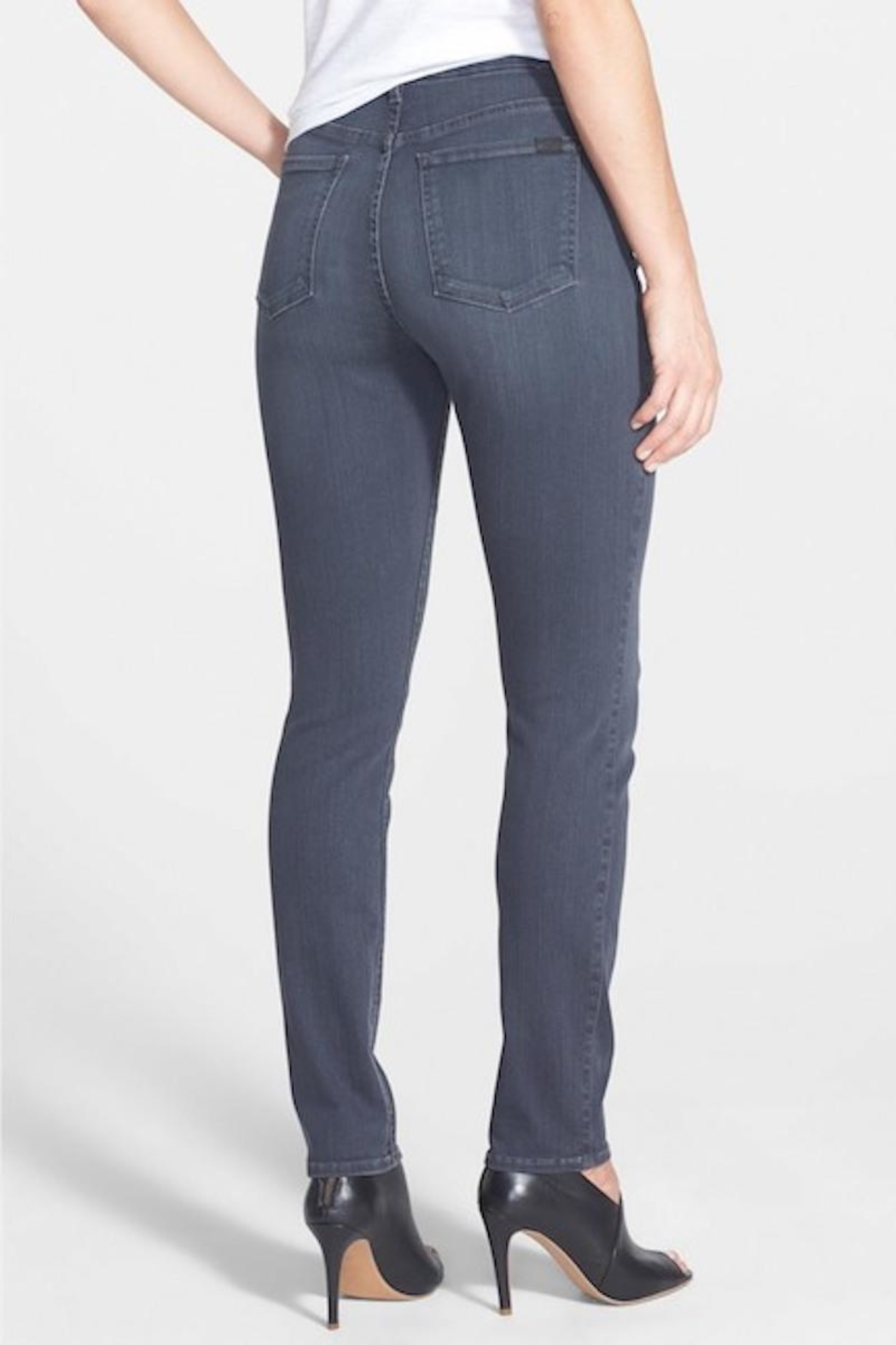 7 For all Mankind Skinny Stretch Denim - Front Full Image