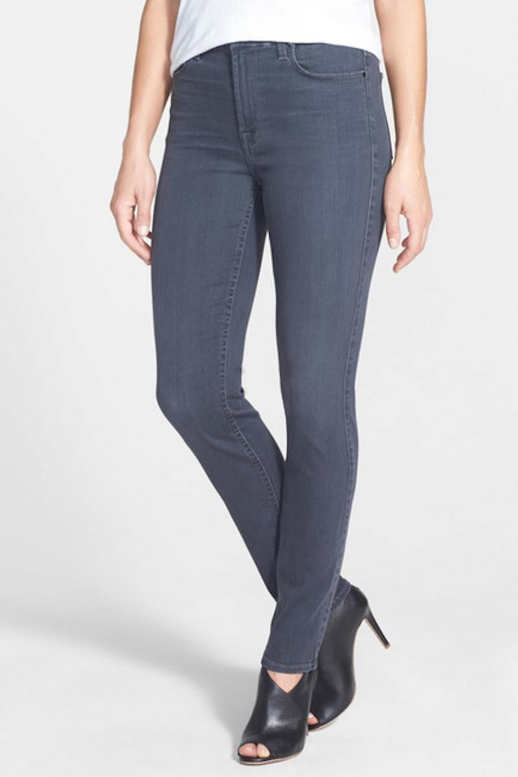 7 For all Mankind Skinny Stretch Denim - Main Image