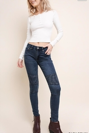 Umgee USA Skinny Stretch Jeans - Product Mini Image