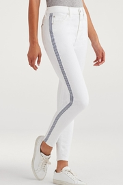 7 For all Mankind Skinny Stripe Denim - Product Mini Image