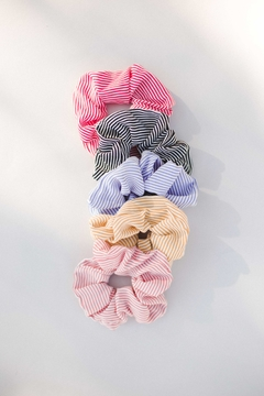 Shoptiques Product: Skinny Stripe Scrunchie