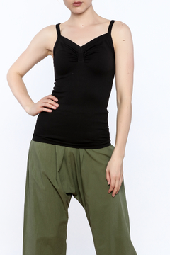 SkinnyTees Ruched Tank - Product List Image