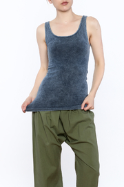 SkinnyTees Washed Tank - Product Mini Image