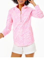 Lilly Pulitzer Skipper Popover Curved Hem UPF 50+ - Product Mini Image