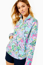 Lilly Pulitzer  Skipper Round Hem Popover UPF 50+ - Side cropped