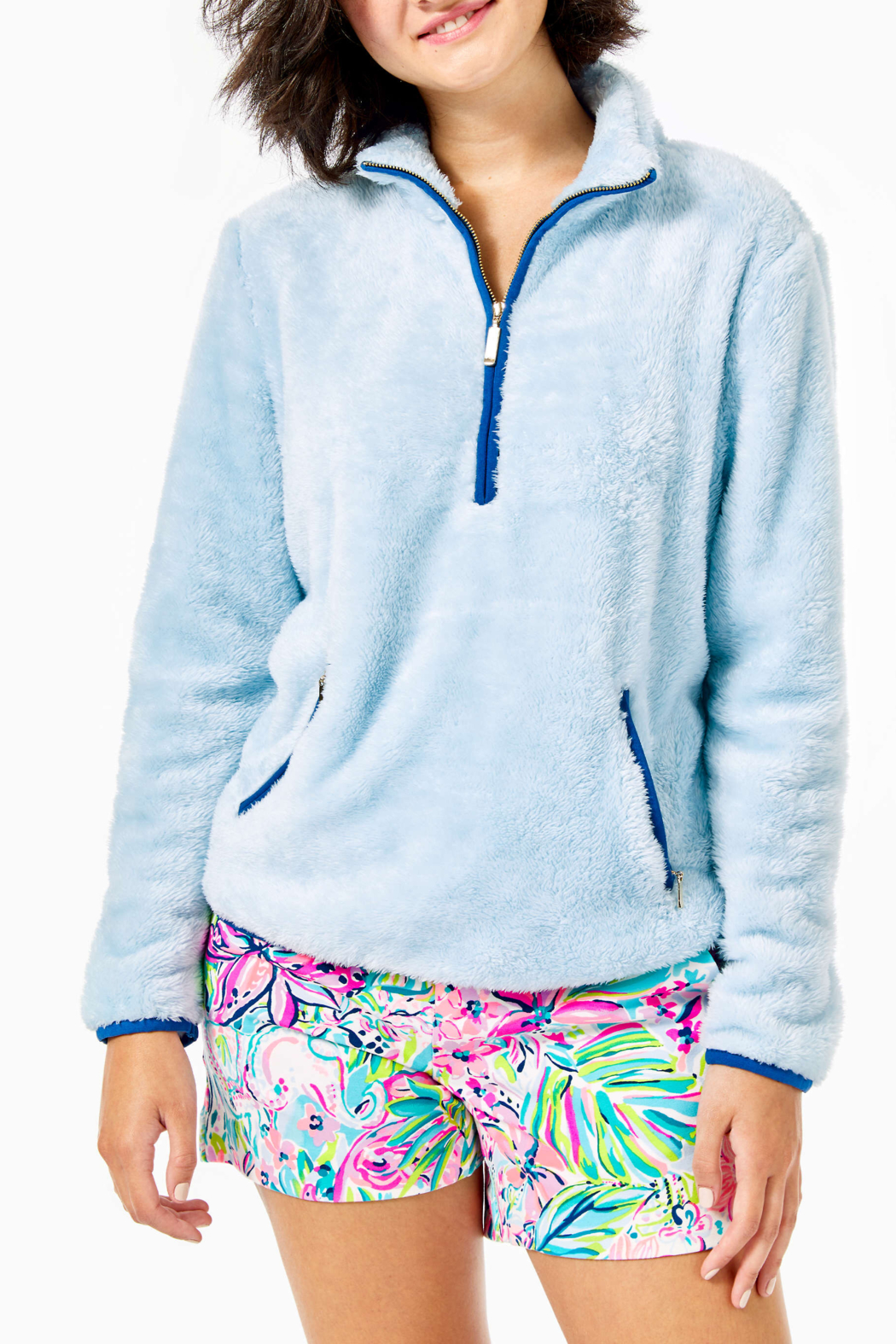 Lilly Pulitzer  Skipper Sherpa Popover - Main Image