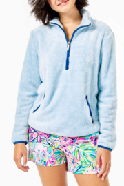 Lilly Pulitzer  Skipper Sherpa Popover - Front cropped