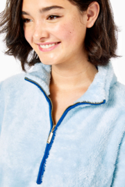 Lilly Pulitzer  Skipper Sherpa Popover - Side cropped