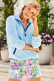 Lilly Pulitzer  Skipper Sherpa Popover - Other