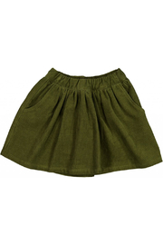 Wheat Skirt Catty - Winter Moss - Front cropped