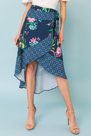 Flying Tomato  SKIRT FLORAL PRINT - Front cropped