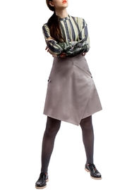 Clara Kaesdorf Skirt Modifiable  Grey - Front full body