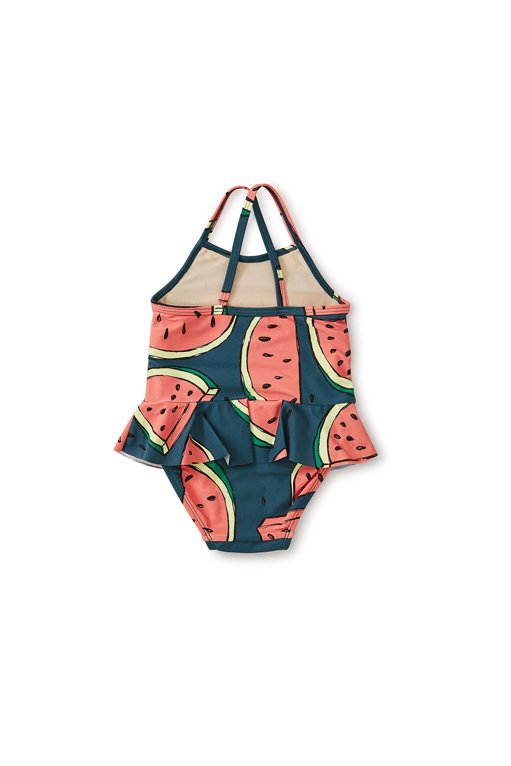Tea Collection Skirted Baby One-Piece - Front Full Image