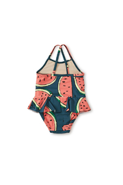 Tea Collection Skirted Baby One-Piece - Front full body