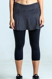 Dona Jo Skirted Capri Leggings - Product Mini Image