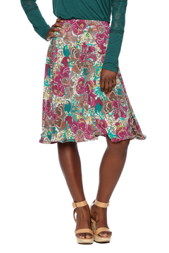 Shoptiques Product: Bright Floral Midi Skirt