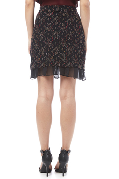 Shoptiques Product: Embroidered Mesh Skirt