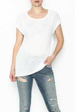 Skull Cashmere Cashmere Lace Skull Top - Product List Image
