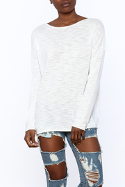 Skull Cashmere Skull Cotton Sweater - Back cropped