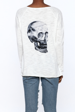 Skull Cashmere Skull Cotton Sweater - Product List Image