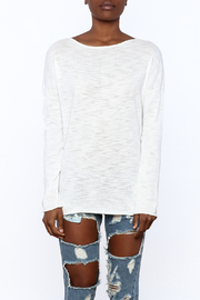 Skull Cashmere Skull Cotton Sweater - Side cropped