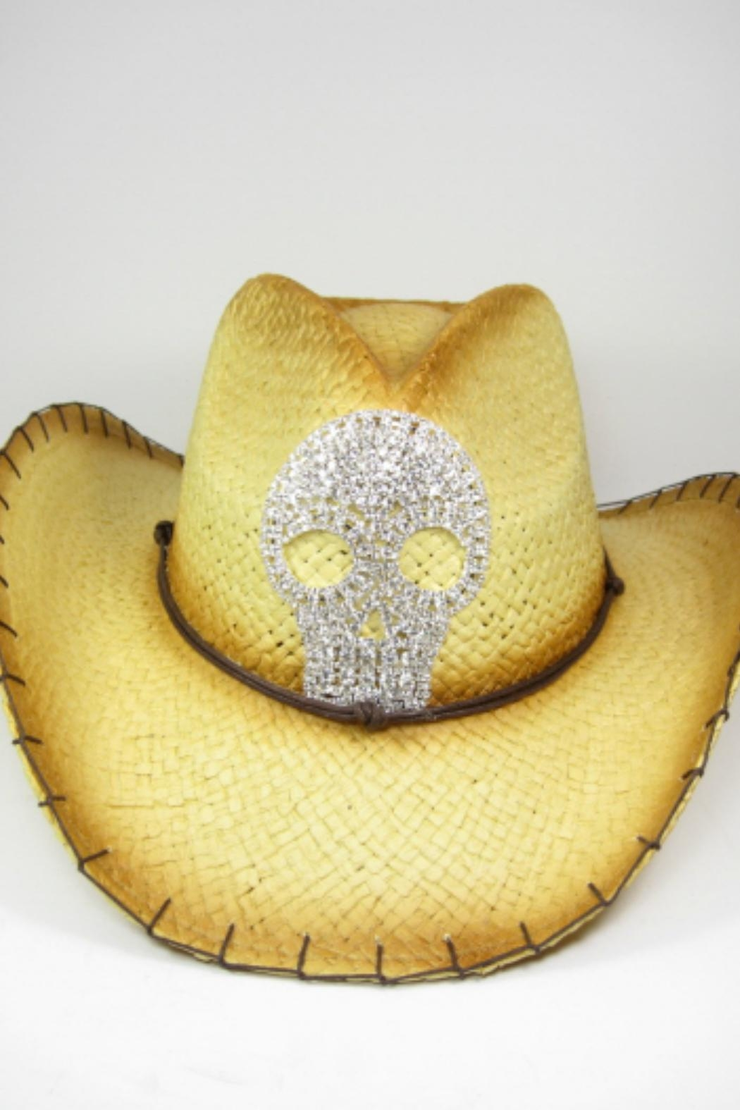 Imagine That Skull Cowboy Hat - Main Image