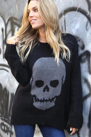 Wooden Ships Skull Crew Neck Sweater - Product Mini Image
