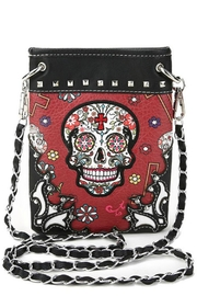 Imagine That Skull Cross-Body Bag - Product Mini Image